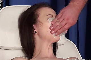Emilys extreme needle and gagged medical piercing pussy pain of uk slave.  xxx pierced   xxx porn