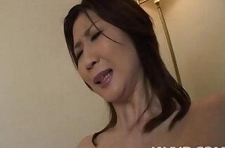 Lonely housewife Nanako Yoshioka seduces the tv repair guy.  xxx porn