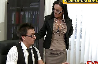 Dirty office bitch gets pussy nailed.  officeporn  ,  pussycats   xxx porn