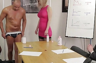 Office femdom affair with Chantelle Fox.  xxx porn