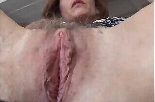 Mature pussy and asshole.  xxx porn