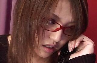 Cute Rino Mizusawa enjoys her new toy inside the pussy.  xxx porn