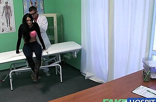 Fake Hospital Doctors cock turns patients frown upside down.  xxx porn