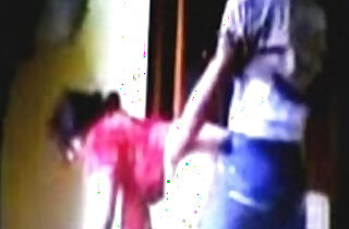 2014 New Punjabi Bhabhi Red Salwar With littel Dever jis In home sex.  xxx porn