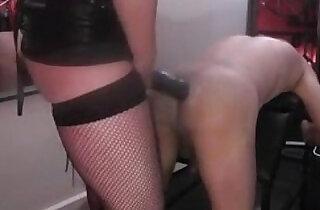 Strapon Arse Training.  xxx porn