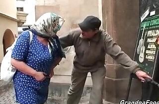 Nasty granny still knows to please a dude.  xxx porn