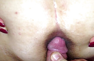 cuming on wide open wifes asshole.  xxx porn