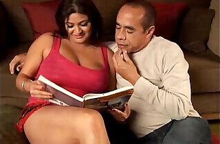Beautiful big tits brunette babe Mimi loves the taste of cum.  xxx porn