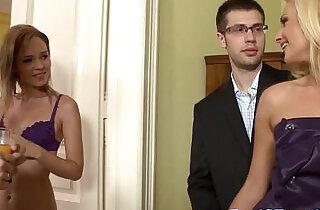 Swinging euro housewives double penetration.  xxx porn