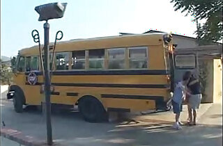 Ashley Blue School Bus Girls.  xxx porn