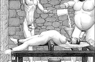 Dungeon terrors brutal extreme bdsm toons art.  extreme   xxx porn