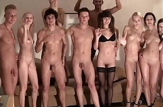 strip ended with an orgy at the party.  xxx porn