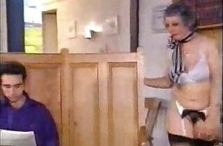 Grandmother Fucks Son And His Grandson.  xxx porn