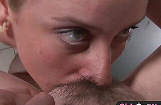 Hairy amateur lesbians loving cunnilingus and rimming.  xxx porn