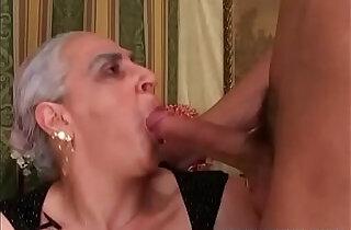 Granny Sucks Cock.  xxx porn
