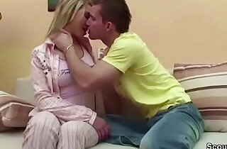 Bro Seduce Step Sister to First anal strapon Fuck When Mom and Dad Away.  xxx porn