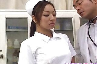 Erena Fujimori sucks vibrator and rides his cock.  xxx porn