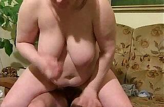 BBW Granny Takes it Hard anal Pounding.  xxx porn