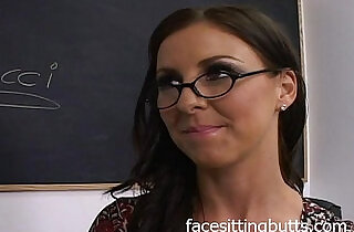 Substitute teacher turns out to be a whore.  xxx porn