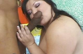 Exotic Asian BBW Kelly Fucks Her First Black mamba hard Cock.  xxx porn