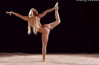 Continuation of Andreykinas gymnastics.  xxx porn