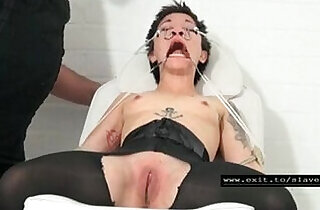 Slave gets bizarre initiation as slave.  xxx porn