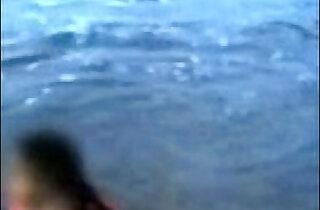 Indian Mom On Beach.  xxx porn