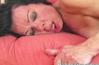 Hot mature british lady enjoy doggy style.  xxx porn