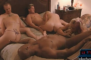 Long time couple try to be swingers.  xxx porn
