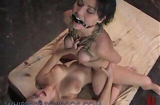 Tied up boobs babe fucked.  xxx porn
