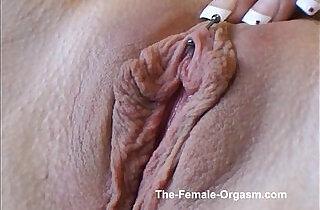 AxaJay Masturbates Solo to a Strong Orgasm.  xxx porn
