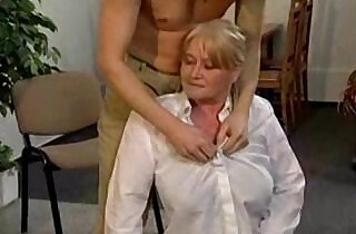 Granny with Big Soft Tits get Fingered and Fucked.  softcore  ,  tits  ,  young-old   xxx porn
