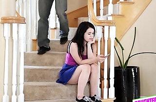 Sexy teen Nami making it with her bffs stepdad.  xxx porn