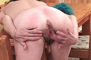 British grandma Vikki with her small saggy tits hairy cunt.  small titties  ,  tits   xxx porn