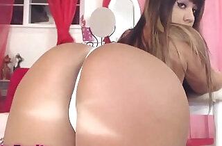 Big tanned booty latina hello kitty butt plug.  xxx porn