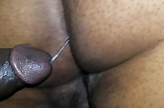 BLACK BUTT GETS POUNDED AND CREAMED DEEP INSIDE.  xxx porn