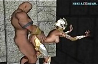 Rough Medieval Anime Fuck Uncensored.  xxx porn