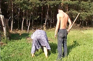 Mature Fucked By The Farm Boy Outdoors.  redheads   xxx porn