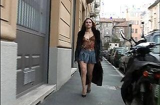 Italian Bitch on the street!!!.  xxx porn